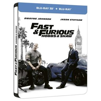 Fast and FuriousFast and Furious : Hobbs and Shaw Steelbook Blu-ray 3D
