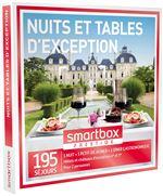 SMAR Coffret cadeau Smartbox Nuits et tables d´exception