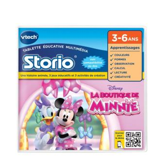 Jeu Storio Vtech La Boutique de Minnie