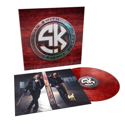 Adrian Smith + Richie Kotzen: Self-Titled  Album (2021) Smith-Kotzen-Edition-Limitee-Vinyle-Rouge