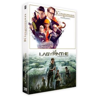 Kingsman, services secretsCoffret Kingsman et Le labyrinthe DVD