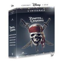 Pirates des Caraïbes L'Intégrale 1 à 5 DVD