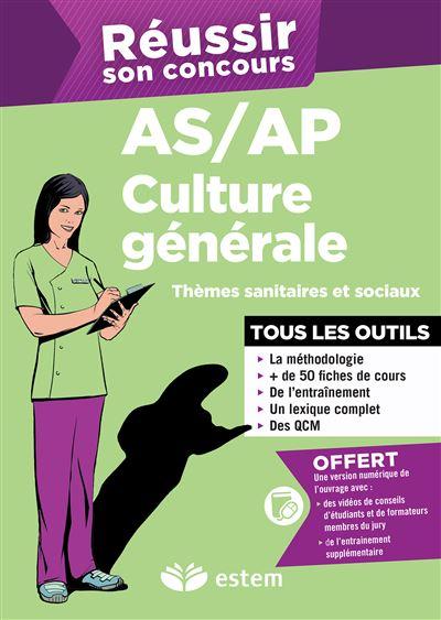 Réussir son concours AS-AP Culture générale