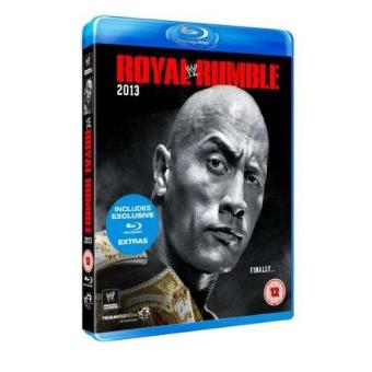 WWE Royal Rumble 2013 Blu-ray