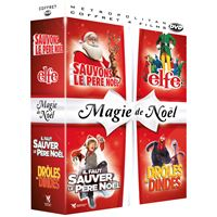 Coffret Magie de Noël 4 Films DVD
