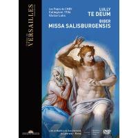 Lully Te Deum Biber Missa Salisburgensis DVD