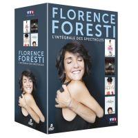 Coffret Florence Foresti L'intégrale des spectacles DVD