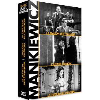 Coffret Mankiewicz Hollywood Legends 3 films DVD
