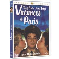 Vacances à Paris DVD