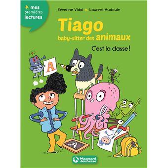 Tiago, baby sitter des animauxC'est la classe !