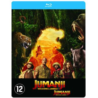 Jumanji:welcome to the jungle-BIL-BLURAY STEELBOOK