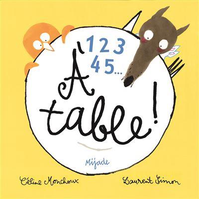 1 2 3 4 5 à table