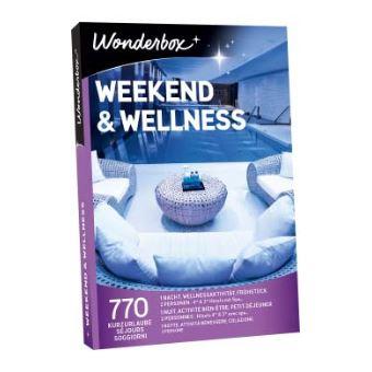 Coffret cadeau Wonderbox Weekend et wellness