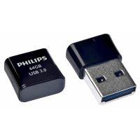 Philips USB 3.0 64GB Pico Edition Black
