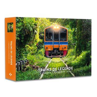 Modele De Calendrier 2020.L Agenda Calendrier Trains De Legende 2020