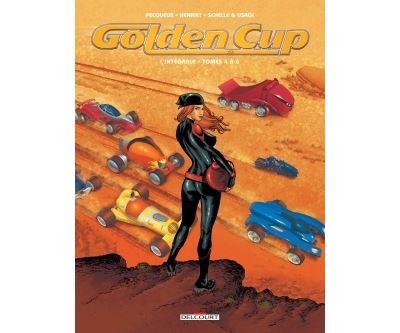 Golden Cup - Intégrale T04 à