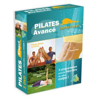 Pilates avancé - Coffret 3 DVD
