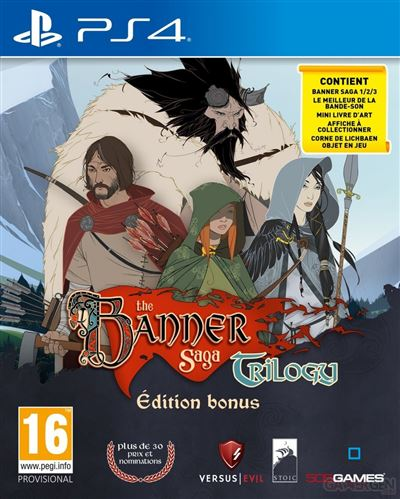 The Banner Saga Trilogy Edition Bonus PS4