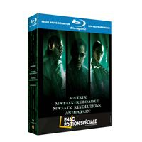 Coffret Matrix L'intégrale Edition Spéciale Fnac Blu-ray