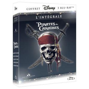 Pirate Des CaraïbesINTEGRALE PIRATES DES CARAIBES (5 FILMS)-FR-BLURAY