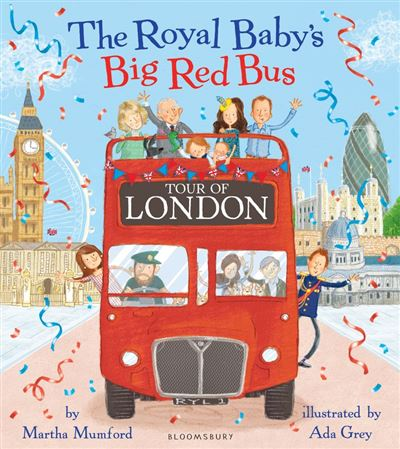 The Royal Baby's Big Red Bus Tour of London - 9781408880463 - 8,96 €
