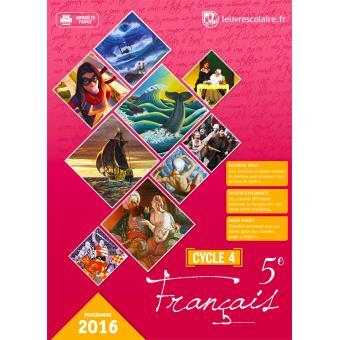 Francais 5eme Cycle 4