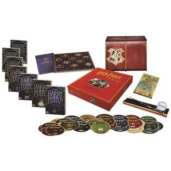 harry potter coffret collector avec 7 livres 31 dvd. Black Bedroom Furniture Sets. Home Design Ideas