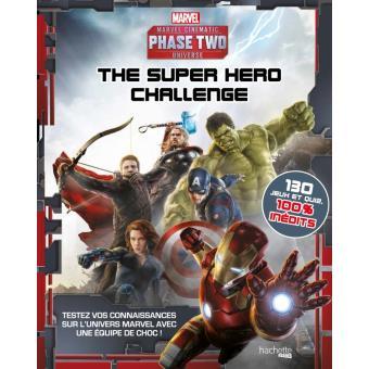 Marvel the super hero challenge