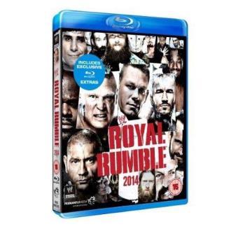 WWE Royal Rumble 2014 Blu-ray