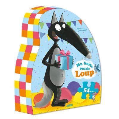 Ma boîte puzzle Loup : Anniversaire
