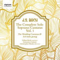 Cantates pour soprano solo volume 1