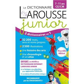 Selection Dictionnaire Larousse Idee Et Prix Dictionnaires Et Langues Fnac