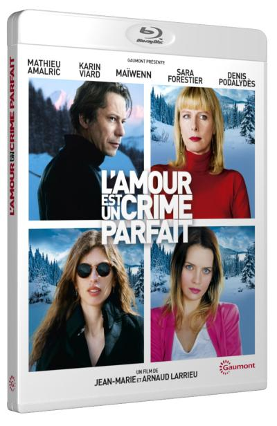 l 39 amour est un crime parfait blu ray arnaud larrieu blu ray achat prix fnac. Black Bedroom Furniture Sets. Home Design Ideas