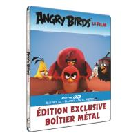 Angry Birds Le film Steelbook Combo Blu-ray 3D + 2D