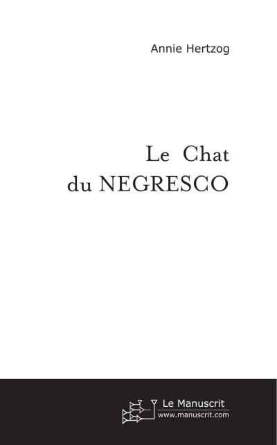 Le chat du Negresco