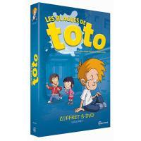 Coffret Les blagues de Toto Volume 1 DVD