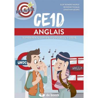 CE1D - Anglais