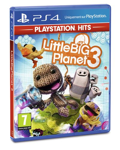 LittleBigPlanet 3 PlayStation Hits PS4