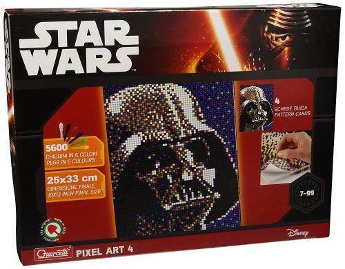 Tableaux Pixel Art 4 Star Wars Dark Vador Quercetti
