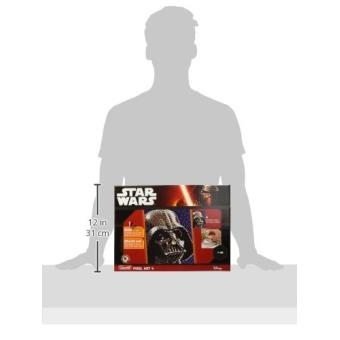 Tableaux Pixel Art 4 Star Wars Dark Vador Quercetti Kit Loisir