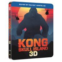 Kong : Skull Island Steelbook Blu-ray 3D + 2D