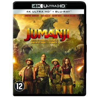 Jumanji:Welcome to the jungle-BIL-BLURAY 4K