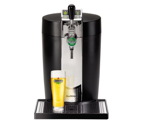 Machine à bière Krups VB7008 BeerTender 61W Noire