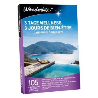 Coffret cadeau Wonderbox 3 jours de bien-être