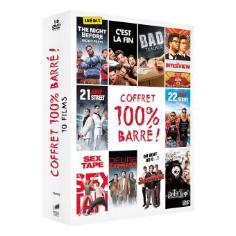 Coffret 100 % Barré 10 films DVD