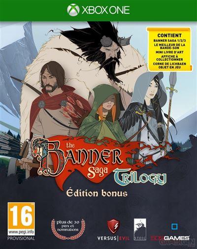 The Banner Saga Trilogy Edition Bonus Xbox One