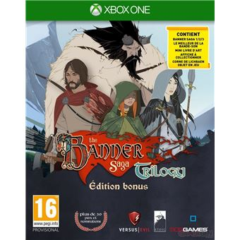 The Banner Saga Trilogy Edition Bonus Xbox One
