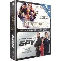 Coffret Kingsman : services secrets et Spy Blu-ray