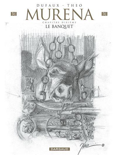 Murena - Le Banquet (Crayonnée)