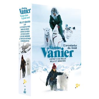 Coffret Nicolas Vanier 7 films Edition limitée DVD
